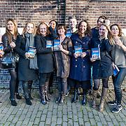 NLD/Amsterdamt/20170111 - Nieuwjaarsborrel Opvliegers 2, Antje Monteiro ,<br /> Anne-Mieke Ruyten ,<br /> Hymke de Vries <br /> Anousha Nzume <br /> Sabine van den Eynden (Schijfster van het boek 'Opvliegers')<br /> Rick Engelkes<br /> Cystine Carreon<br /> Peggy Vrijens<br /> Sandra Mattie