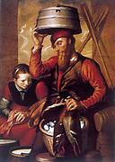 The Game Dealer'.   Pieter Aartsen (Aertsen/Arijaensz 1509-1575) called Lange Peer (Long Peter) because of his great height.