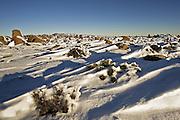 Snow and Dolerite Spires, Mount Wellington Forest Park - Tasmania