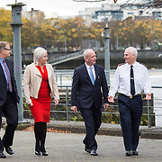 14.11.2016          <br /> Major winter safety and wellbeing campaign launched by Limericks Public Services.<br /> <br /> Pictured at the launch were, Conn Murray, CEO Limerick City and County Council, Colette Cowan, CEO UHL, Bernard Gloster, Chief Officer HSE Midwest and Chief Supt. David Sheahan. <br /> <br /> Limerick City and County Council, the HSE and An Garda Siochana working together. Picture: Alan Place