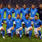 Italian team group