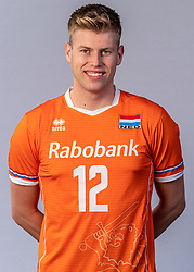Bennie Tuinstra of Netherlands, Photoshoot selection of Orange men's volleybal team season 2021on may 11, 2021 in Arnhem, Netherlands (Photo by RHF Agency/Ronald Hoogendoorn)