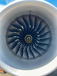 Latam Airplane Engine, At Mataveri International Airport