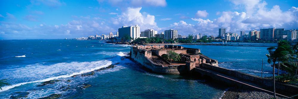 PUERTO RICO, SAN JUAN Condado Beach; San Geronimo