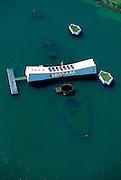 Arizona Memorial, Pearl Harbor, Honolulu, Oahu, Hawaii, USA<br />