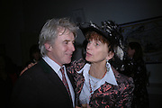 William Adlington and Lady Henrietta Rous. Annabel Freyberg and Andrew Barrow drinks party. The Royal Geographical Society. 5 January 2006. ONE TIME USE ONLY - DO NOT ARCHIVE  © Copyright Photograph by Dafydd Jones 66 Stockwell Park Rd. London SW9 0DA Tel 020 7733 0108 www.dafjones.com