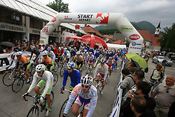 Start of 3rd stage of the 15th Tour de Slovenie from Skofja Loka to Krvavec (129,5 km), on June 13,2008, Slovenia. (Photo by Vid Ponikvar / Sportal Images)/ Sportida)
