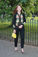 Bonnie Wright, The Serpentine Gallery - summer party, The Serpentine Gallery, London UK, 01 July 2014, Photo by Richard Goldschmidt