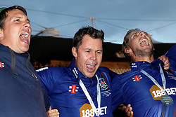 Gloucestershire's Geraint Jones - Mandatory byline: Robbie Stephenson/JMP - 07966 386802 - 19/09/2015 - Cricket - Lord's Cricket Ground - London, England - Gloucestershire CCC v Surrey CCC - Royal London One-Day Cup Final