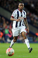 West Brom's Saido Berahino in action. The Emirates FA Cup, 4th round match, West Bromwich Albion v Peterborough Utd at the Hawthorns stadium in West Bromwich, Midlands on Saturday 30th January 2016. pic by Carl Robertson, Andrew Orchard sports photography.