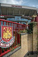 Photo: Tony Oudot. <br /> West Ham United v Manchester City. Barclays Premiership. 11/08/2007. <br /> Upton Park