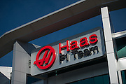 December 11, 2015: Haas F1 team factory building