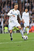 Cristiano Ronaldo (Real Madrid) during the UEFA Champions League, semi final, 2nd leg football match between Real Madrid and Bayern Munich on May 1, 2018 at Santiago Bernabeu stadium in Madrid, Spain - Photo Laurent Lairys / ProSportsImages / DPPI