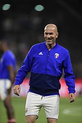 June 12, 2018 - Paris, France, France - Zinedine Zidane  (Credit Image: © Panoramic via ZUMA Press)