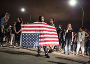 Philando Castile verdict protest march on Interstate Highway 94 in St. Paul, MN, June 16, 2017.<br /> <br /> On July 6, 2016, Philando Castile, a 32-year-old African-American, was pulled over while driving in Falcon Heights, Minnesota, and killed by Jeronimo Yanez, a 29-year-old Latino St. Anthony, Minnesota police officer.
