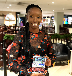 """Supermodel, DJ and presenter Eunice Olumide OBE launches her new book """"How To Get Into Fashion"""" at Waterstones in her home city of Edinburgh.<br /> <br /> Eunice was born in Wester Hailes<br /> <br /> Pictured: Eunice Olumide OBE<br /> <br /> Alex Todd 