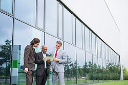 Multi-racial Group planning cooperation business