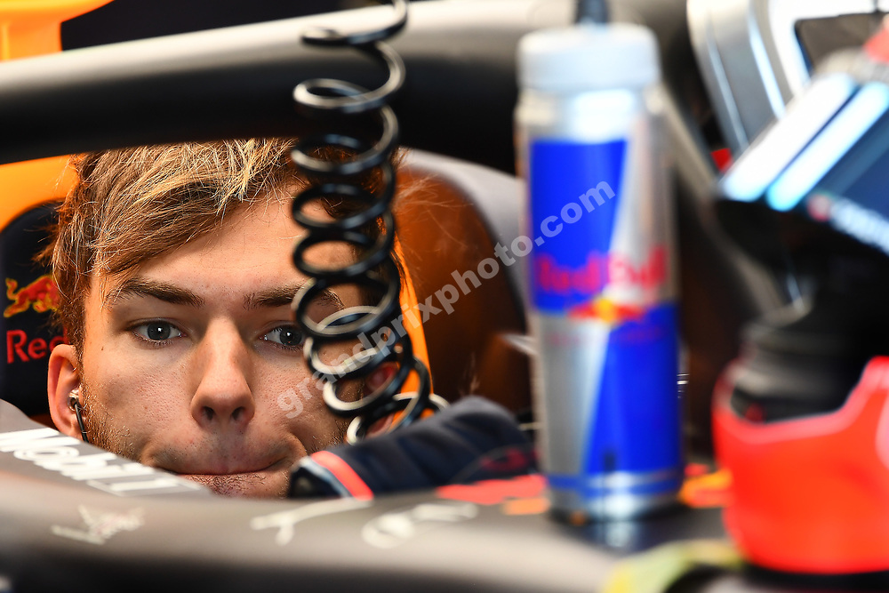 Pierre Gasly in his Red Bull-Honda during practice for the 2019 Canadian Grand Prix in Montreal. Photo: Grand Prix Photo