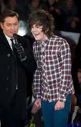 Contestants Frankie Cocozza at the launch of  Celebrity Big Brother 2012 in London , Thursday 5th January 2012. Photo by: i-Images