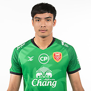 THAILAND - MARCH 05: Chinnapong Raksri #24 of Police Tero FC on March 05, 2019.<br /> .<br /> .<br /> .<br /> (Photo by: Naratip Golf Srisupab/SEALs Sports Images/MB Media Solutions)