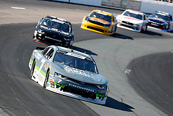 July 21, 2018 - Loudon, NH, U.S. - LOUDON, NH - JULY 21: Justin Allgaier, Xfinity Series driver of the Dove Men + Care Chevrolet (7), during the Xfinity Series Lakes Region 200 on July 21, 2018, at New Hampshire Motor Speedway in Loudon, New Hampshire. (Photo by Fred Kfoury III/Icon Sportswire) (Credit Image: © Fred Kfoury Iii/Icon SMI via ZUMA Press)