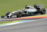 Sieger Nico Rosberg (Mercedes)<br /> Formel 1, Grosser Preis Santander von Deutschland 2014, Hockenheimring<br /> Norway only<br /> F1