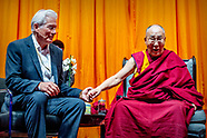 Dalai Lama geeft lezing in Ahoy