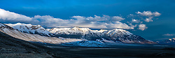 Lost River Range Panorama, this is the home of the shy Mount Borah who is hiding his peak in the clouds. <br /> <br /> This panorama is a very large file and can be printed as large as 11 feet wide. Who has a very large wall?