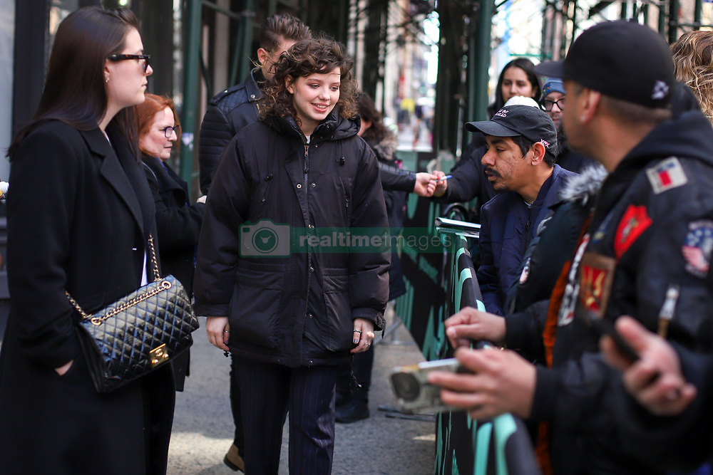 March 27, 2019 - New York, New York, United States - Chloe Levine attends the Build Series to discuss 'The OA: Part II' & 'Savage Youth' at Build Studio on March 27, 2019 in New York City. (Credit Image: © William Volcov/ZUMA Wire)