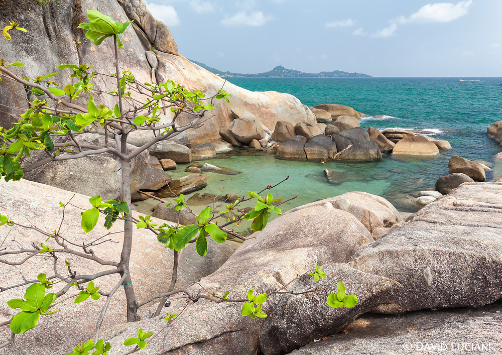 """According to """"Wikipedia"""" - Koh Samui was probably first inhabited about 15 centuries ago, settled by fishermen from the Malay Peninsula[2] and southern China. It appears on Chinese maps dating back to 1687, under the name Pulo Cornam. The name samui is mysterious in itself. Perhaps it is an extension of the name of one of the native trees, mui. Some people believe that the word """"samui"""" derives from the Malay word """"saboey"""", or """"safe haven"""", although there appears to be no credible corroboration of this. Ko is the Thai word for """"island""""."""
