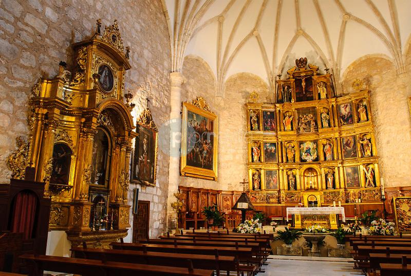 Iglesia de la Asunción y Retablo Renacentista.Miguelturra.Ciudad Real.Ruta  Almodovar ©Antonio Real Hurtado / PILAR REVILLA