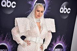 Christina Aguilera attends the 2019 American Music Awards at Microsoft Theater on November 24, 2019 in Los Angeles, CA, USA. Photo by Lionel Hahn/ABACAPRESS.COM