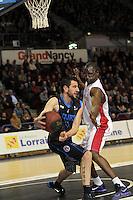 Maxime COURBY / Florent PIETRUS  - 07.03.2015 - Nancy / Rouen - 23eme journee de ProA<br />Photo : Fred Marvaux / Icon Sport
