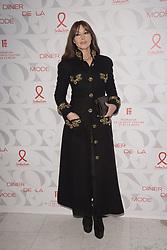 Monica Bellucci attends the 17th 'Diner De La Mode' as part of Paris Fashion Week on January 22, 2019 in Paris, France.