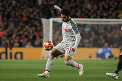 May 1, 2019 - Barcelona, Barcelona, Spain - Salah of Liverpool in action during UEFA Champions League football match, between Barcelona and Liverpool, May 01th, in Camp Nou stadium in Barcelona, Spain. (Credit Image: © AFP7 via ZUMA Wire)