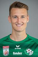 Download von www.picturedesk.com am 16.08.2019 (14:06). <br /> ABD0095_20190710 - WATTENS - ÖSTERREICH: David Gugganig am Mittwoch, 10. Juli 2019, anl. eines Fototermins des Bundesliga-Fußball-Vereins WSG Swarovski Tirol in Wattens. - FOTO: APA/EXPA/JOHANN GRODER  _ - 20190710_PD2506