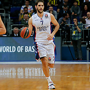 Anadolu Efes's Stratos Perperoglou during their Turkish Airlines Euroleague Basketball Top 16 Round 14 match Fenerbahce Ulker between Anadolu Efes at the Ulker Sports Arena in Istanbul, Turkey, Thursday 09 April, 2015. Photo by Aykut AKICI/TURKPIX