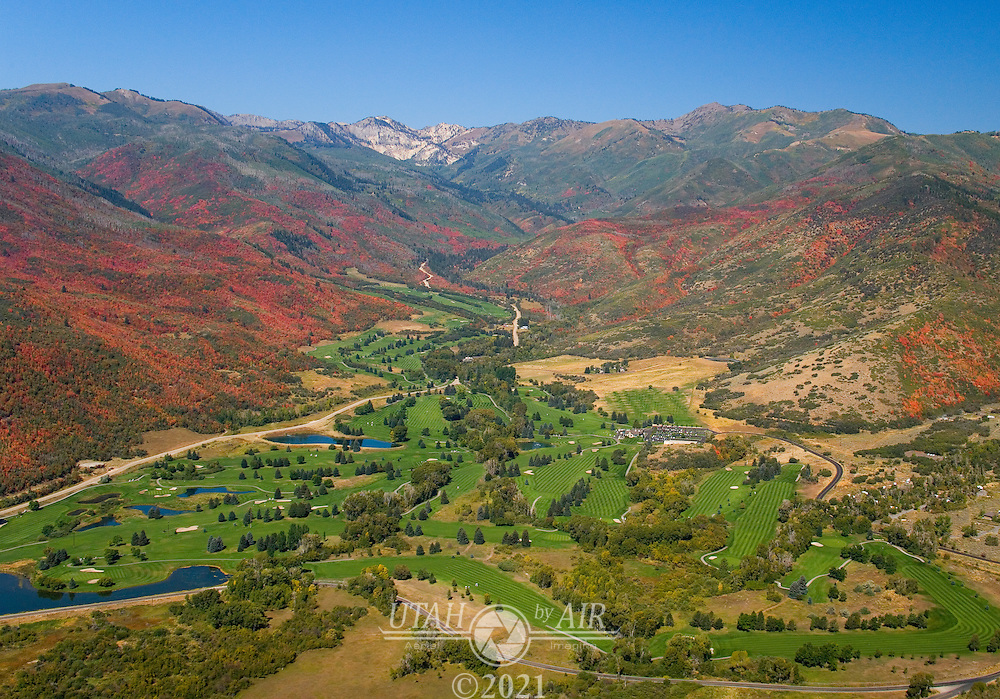 Wasatch Mountain State Park near Heber, Utah