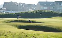 PORTRUSH - Hole 17. ROYAL PORTRUSH GOLF CLUB. The Dunluce Championship Course.COPYRIGHT KOEN SUYK