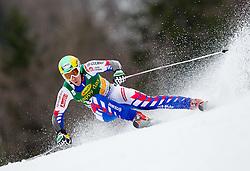 MUFFAT JEANDET Victor of France during the 2nd Run of 7th Men's Giant Slalom - Pokal Vitranc 2013 of FIS Alpine Ski World Cup 2012/2013, on March 9, 2013 in Vitranc, Kranjska Gora, Slovenia. (Photo By Vid Ponikvar / Sportida.com)