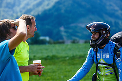 Jost Napret pilot for Slovenian national team during 16th paraglide competition Ratitovec Open 2016, Železniki, Porezen, on 10th of July in Slovenia. Photo by Grega Valancic / Sportida