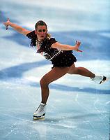 Kunstløp<br /> OL 1994 Lillehammer<br /> Foto: imago/Digitalsport<br /> NORWAY ONLY<br /> <br /> 16.02.1994  <br /> Tonya Harding mit einer ausdrucksvollen Pose auf dem Eis