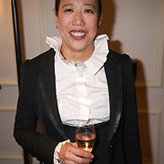 London,England,UK : 6th May 2016 : Dr. Bernice Pan is an architect-turned-fashion designer, founder of  DePLOY demi-couture latest Spring-Summer Brides Catwalk Show & Style Event at Strand, London. Photo by See Li