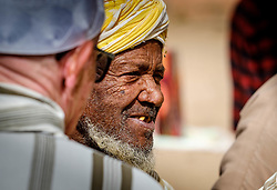 A Berber man at the carpet market in in Tazenakht, southern Morocco, Africa<br /> <br /> (c) Andrew Wilson   Edinburgh Elite media