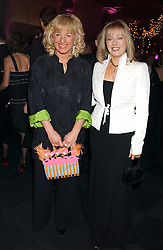 Left to right, CAROL THATCHER and FFION HAGUE at the Conservative Party's Black & White Ball held at Old Billingsgate, 16 Lower Thames Street, London EC3 on 8th February 2006.<br /><br />NON EXCLUSIVE - WORLD RIGHTS