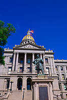 Colorado State Capitol Building, Denver, Colorado USA