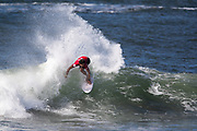 Cooper Chapman of Australia advances to round two after placing first in round one heat 15 of the 2018 Hawaiian Pro at Haleiwa, Oahu, Hawaii, USA.