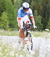 BILDET INNGÅR IKKE I FASTAVTALER. ALL NEDLASTING BLIR FAKTURERT.<br /> <br /> Sykkel<br /> Foto: imago/Digitalsport<br /> NORWAY ONLY<br /> <br /> 18.06.2016 Davos , SCHWEIZ , Herren Radsport Tour de Suisse 8.Etappe Einzelzeitfahren Davos - Davos Odd Christian Eiking NOR