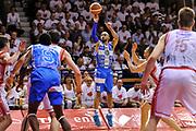 DESCRIZIONE : Campionato 2014/15 Serie A Beko Grissin Bon Reggio Emilia - Dinamo Banco di Sardegna Sassari Finale Playoff Gara7 Scudetto<br /> GIOCATORE : David Logan<br /> CATEGORIA : Tiro Tre Punti Three Point<br /> SQUADRA : Dinamo Banco di Sardegna Sassari<br /> EVENTO : LegaBasket Serie A Beko 2014/2015<br /> GARA : Grissin Bon Reggio Emilia - Dinamo Banco di Sardegna Sassari Finale Playoff Gara7 Scudetto<br /> DATA : 26/06/2015<br /> SPORT : Pallacanestro <br /> AUTORE : Agenzia Ciamillo-Castoria/L.Canu