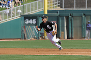 GLENDALE, AZ - MARCH 5:  Omar Vizquel #11 of the Chicago White Sox fields against the Los Angeles Dodgers on March 5, 2010 at The Ballpark at Camelback Ranch in Glendale, Arizona. (Photo by Ron Vesely)
